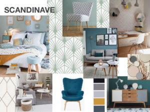 le style de décoration scandinave