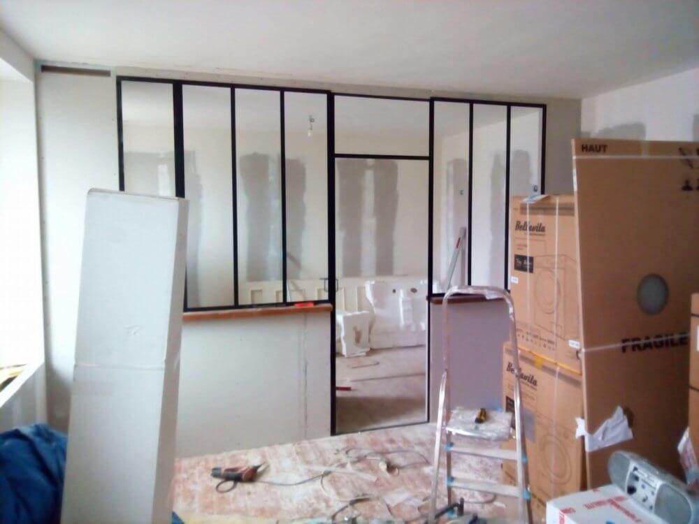 Rénovation de la chambre 3 - création d'un atelier
