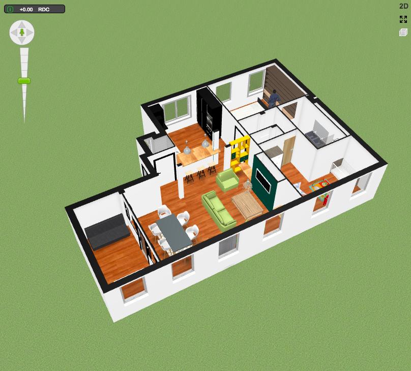 plan de rénovation 3D - mon projet de rénovation