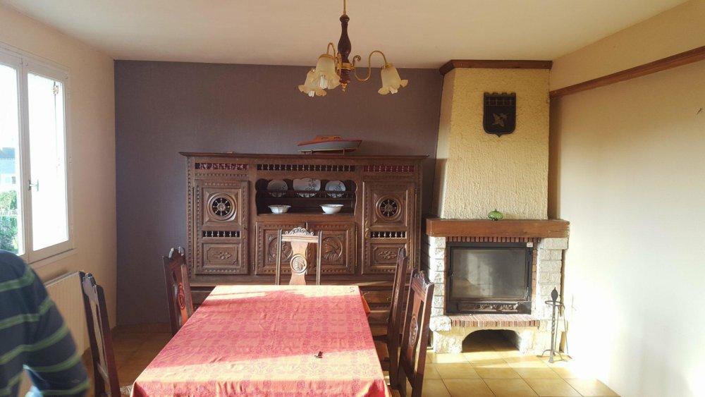 projet maison Roscoff - salon avant rénovation