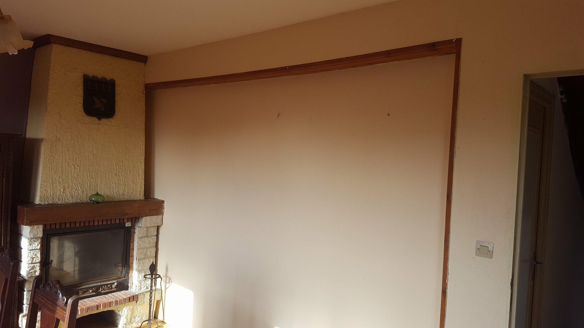 projet maison Roscoff - salon avant travaux