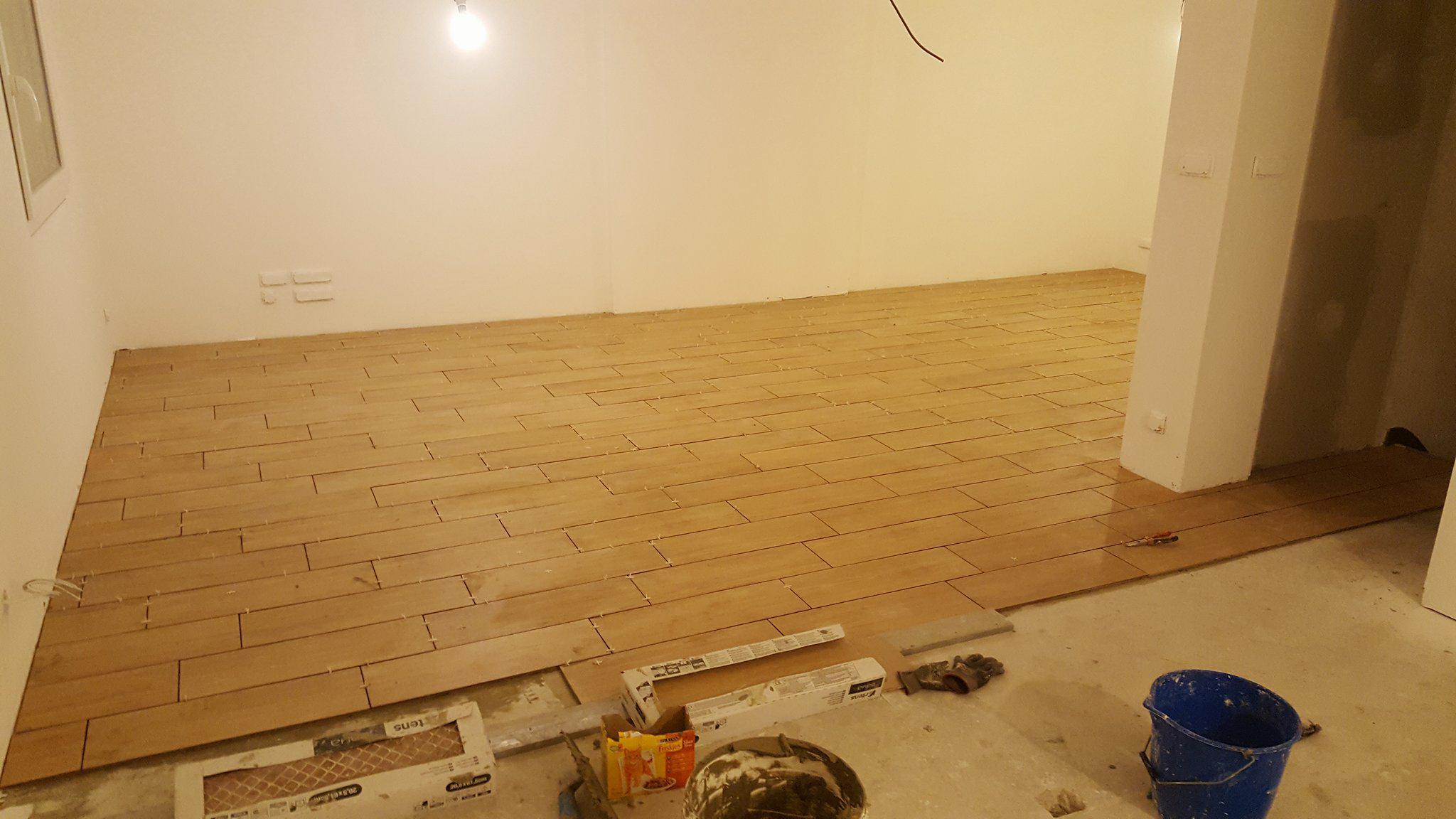 projet maison Roscoff - séjour - pendant travaux