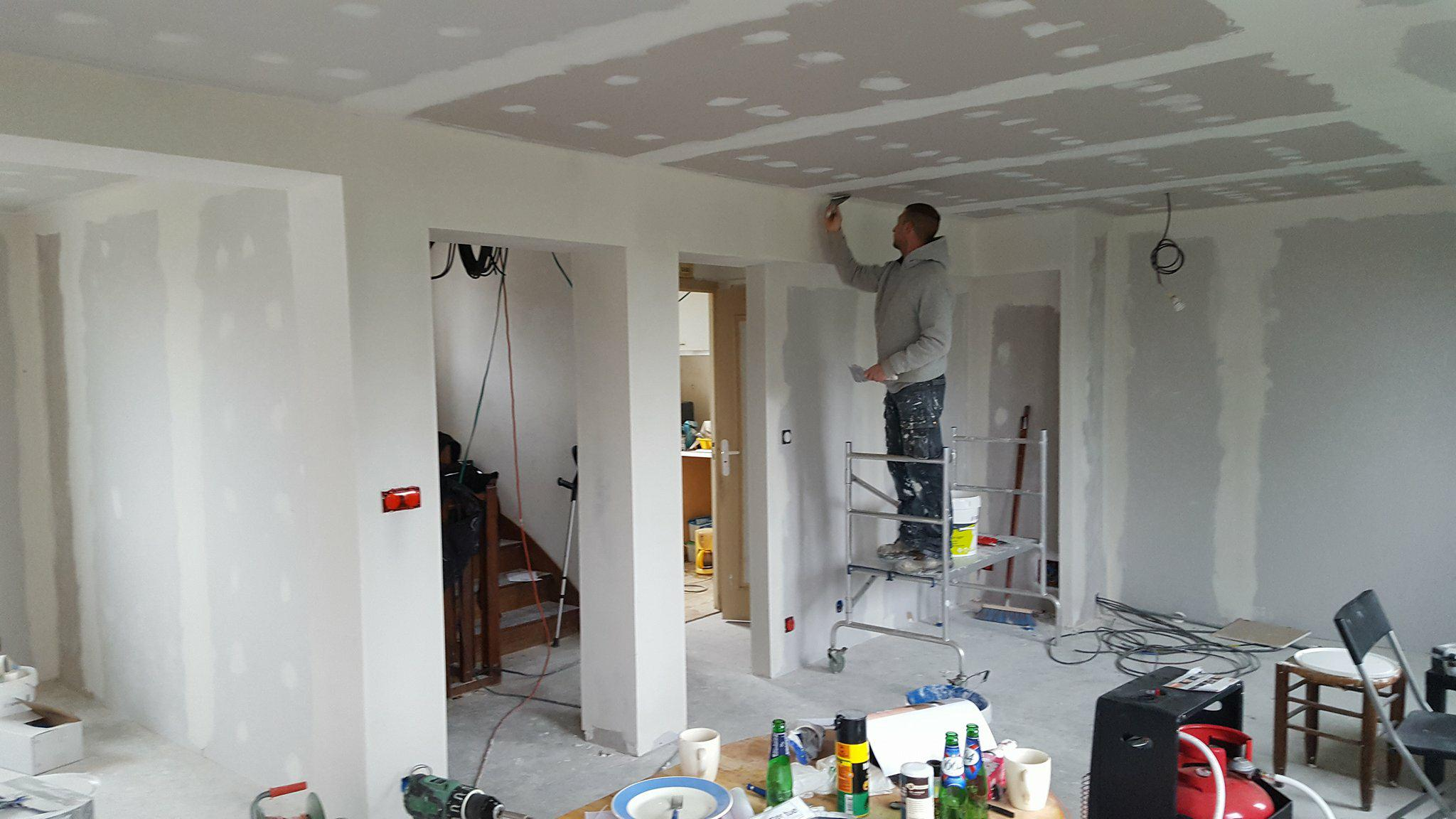 rénovation etage maison Roscoff
