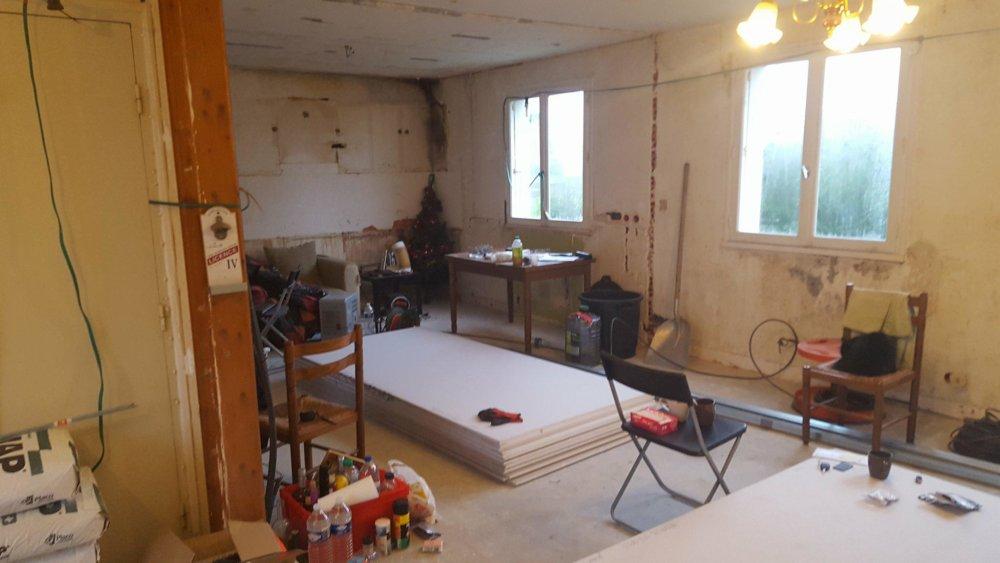 renovation complete premier etage maison