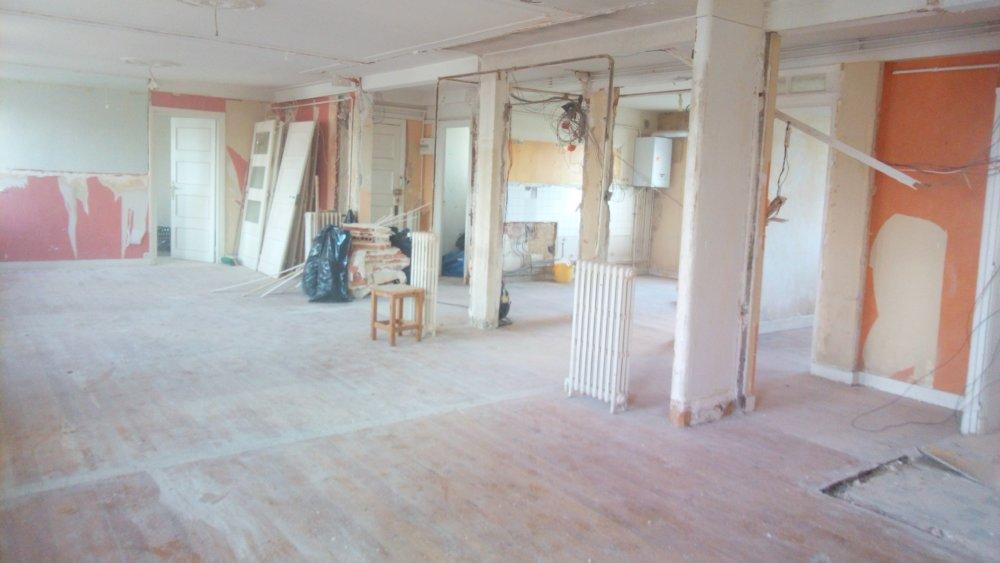 renovation salon cuisine